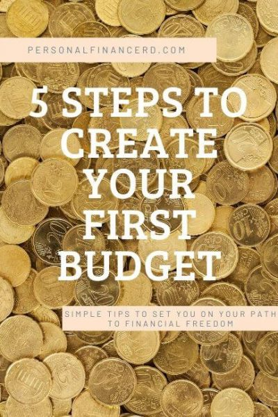 5 steps for creating your first budget