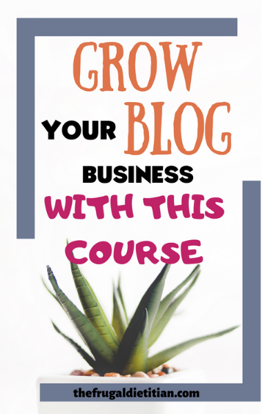 Grow your blogging business with this course