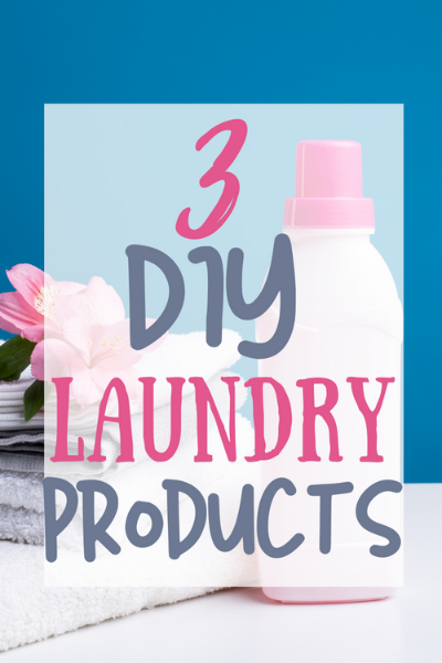 Frugal Living Tips: DIY Laundry Products