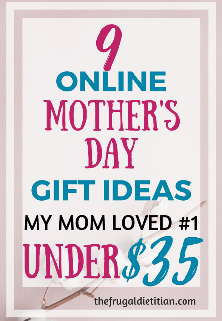 9 Online Mother's Day Gift Ideas