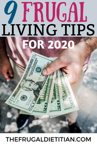 Frugal Living Tips for 2020