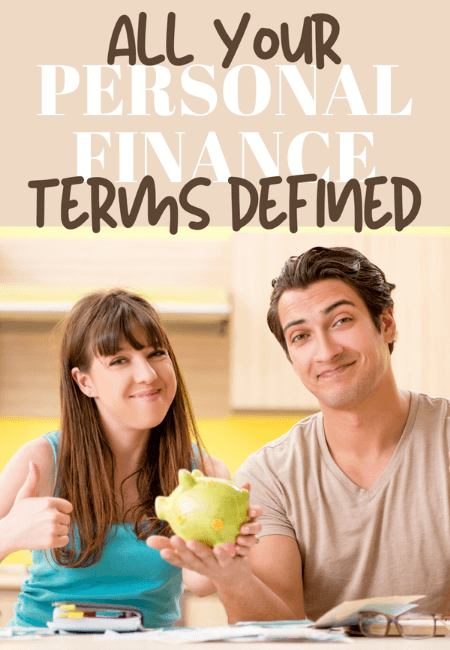 Personal finance terms defined. #financialindependence #financialfreedome #FIRE