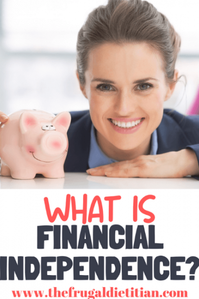 What is Financial Independence? All your personal finance terms defined.